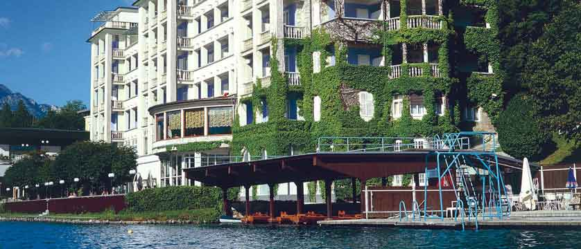 Grand Hotel Toplice, Bled, Slovenia - view from the lake.jpg
